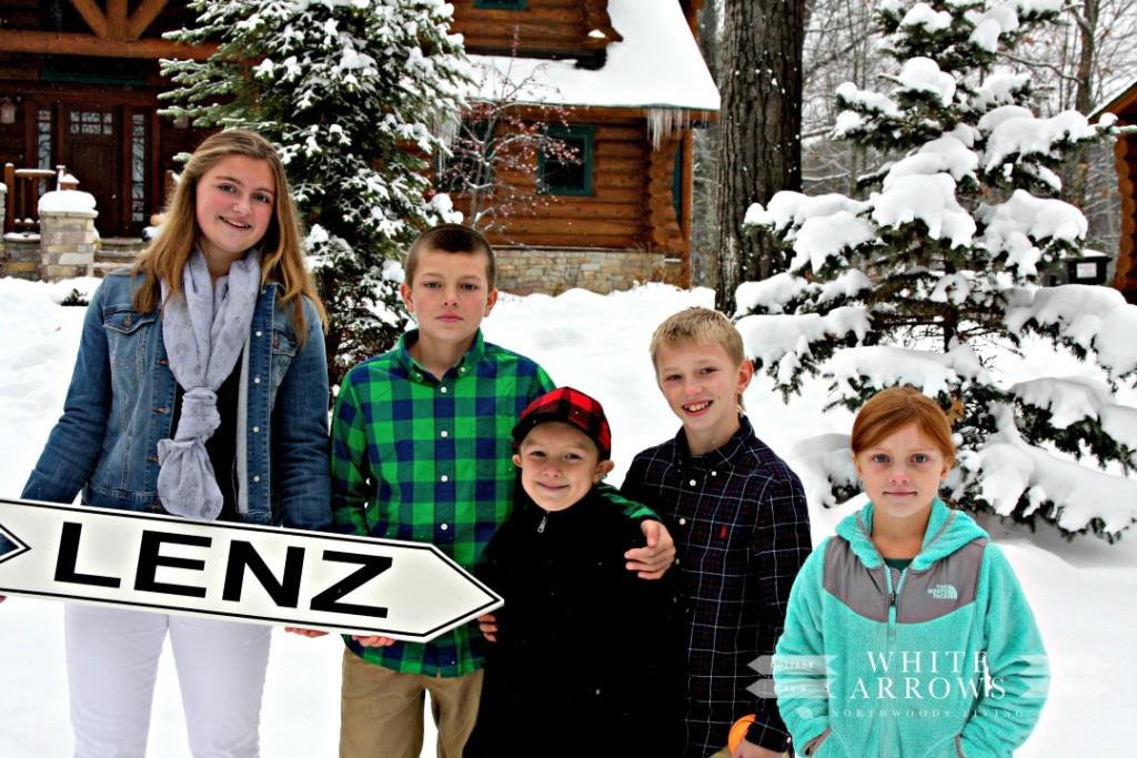 White Arrows Home Kids