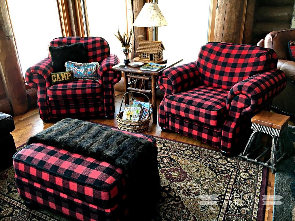 Buffalo Check Chairs