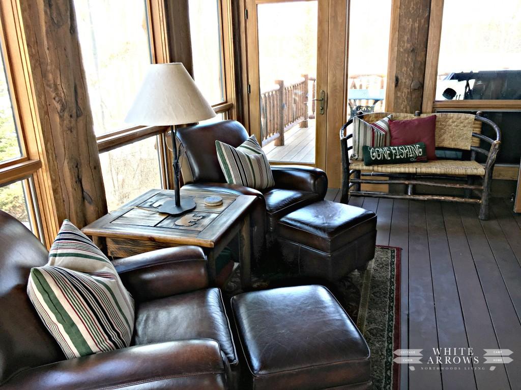 Sunroom, Log Home