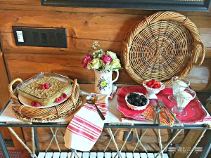 Ladies Who Brunch~Baked Oatmeal