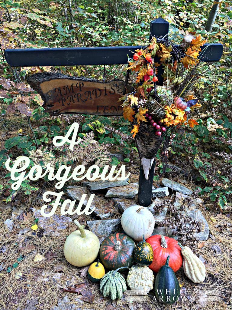 Autumn wreath, fall decor