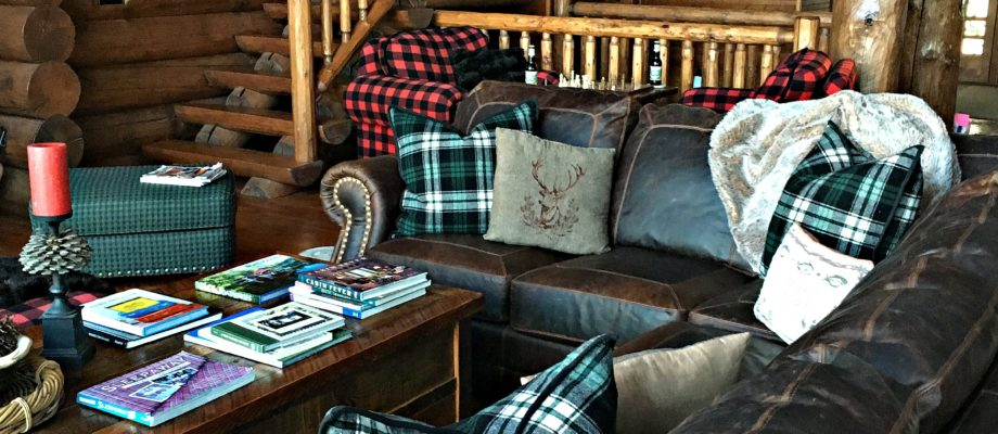 Winter Home Tour~ The Cabin Great Room