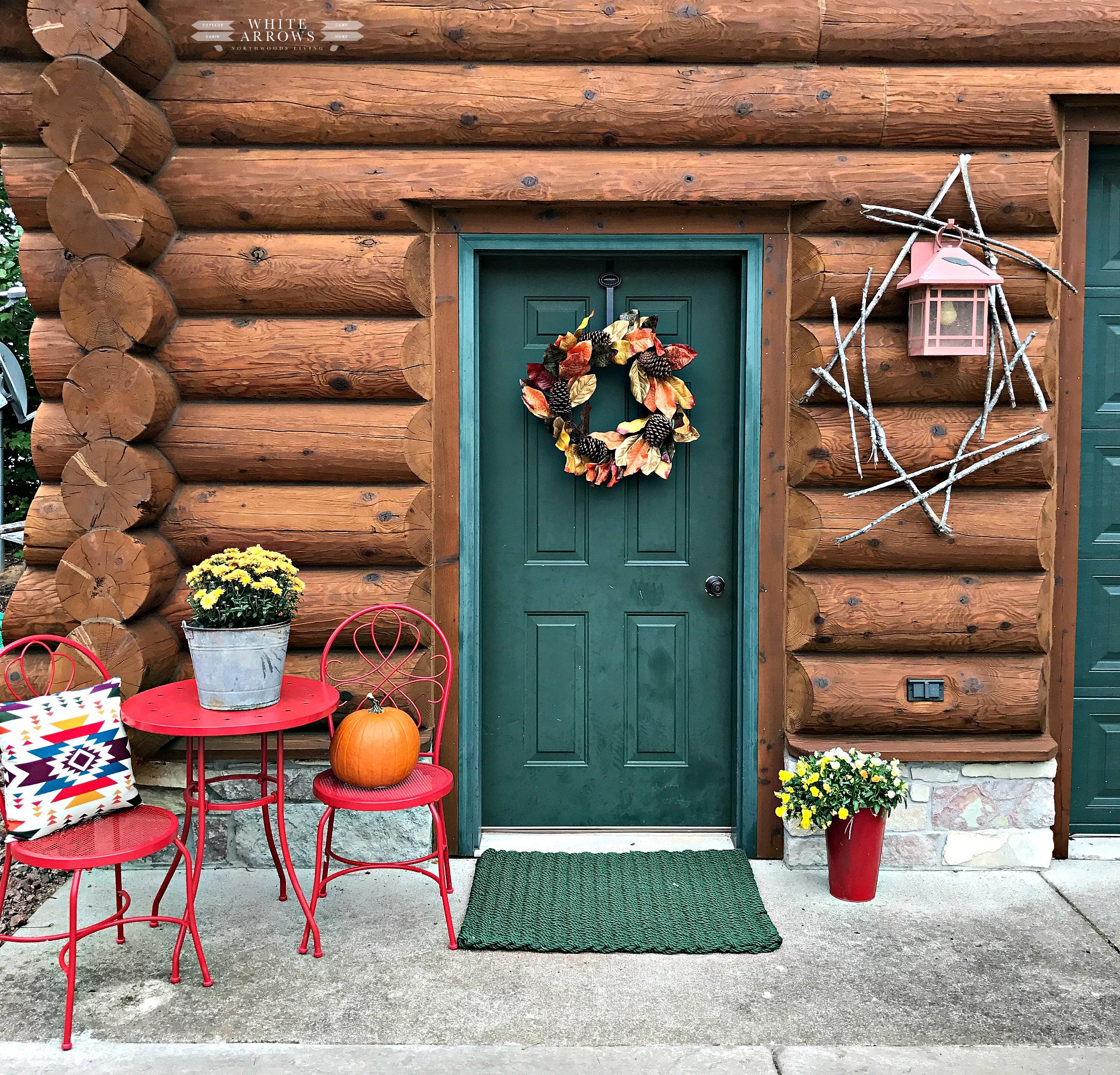 Fall Festival Blog Tour- Autumn Welcome Porch Decor