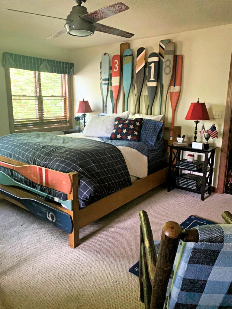 One Room Challenge Nautical Guest Bedroom